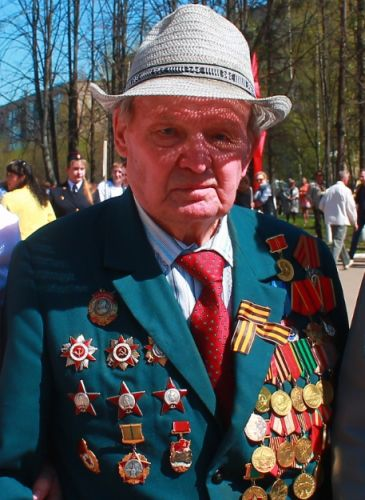 Ветерану Великой Отечественной войны Румянцеву Василию Алексеевичу - 95 лет