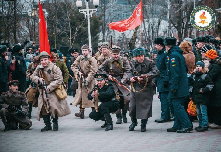 Военно-историческая реконструкция освобождения Краснодара пройдет 12 февраля 2018 года