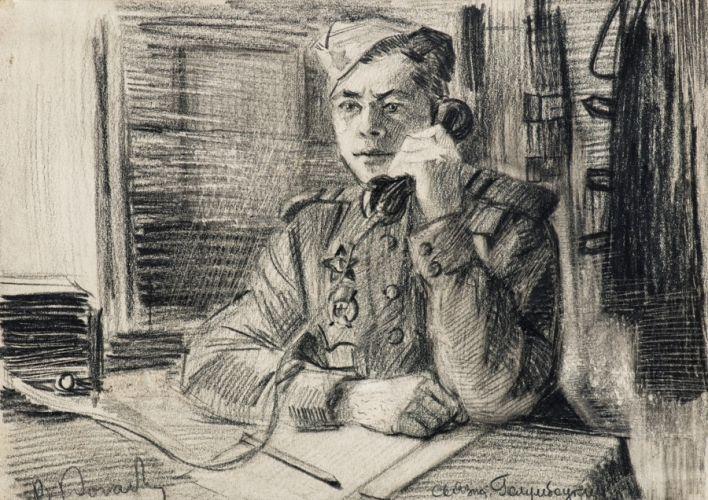 Последний портрет солдата хранился в музее