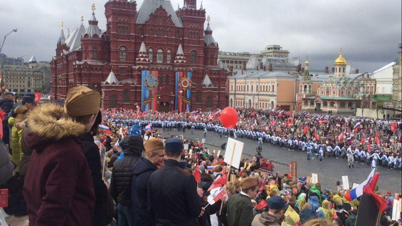 Бессмертный полк 2018 пройдет по Красной Площади