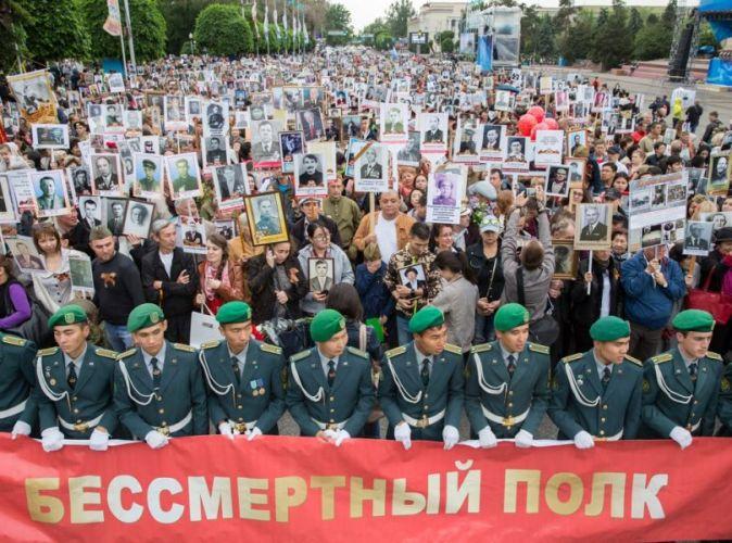 Дата и время построения Бессмертого полка Алматы 2018г