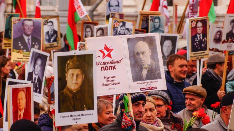 """О проведении шествия """"Бессмертный полк"""" в Витебске 9 мая 2018 г."""