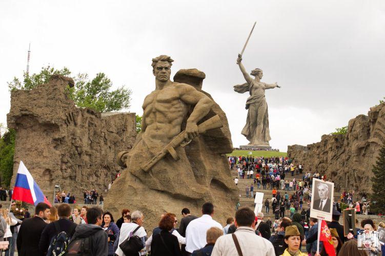 9 мая 2018 в Волгограде вновь пройдёт Бессмертный полк