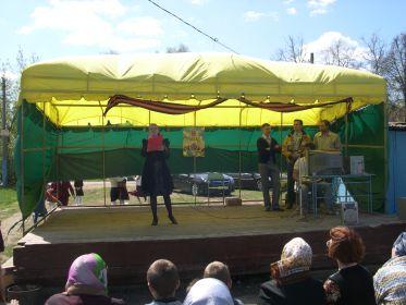 2011. 9 мая. Концерт для ветеранов, организованный на Футболке.