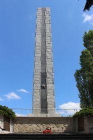 Памятник воинам Советской Армии.