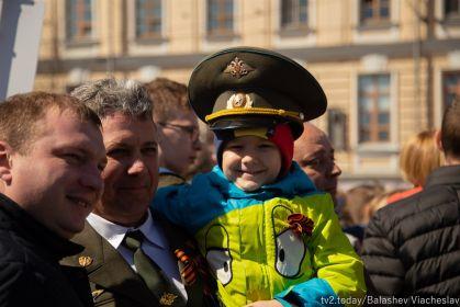Бессмертный полк в Томске.