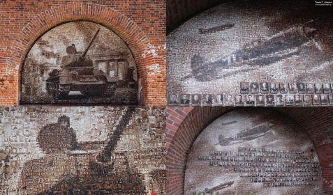 Тематические панно на стелах у обелиска будут созданы из десятков и сотен портретов ярославцев, сражавшихся за Родину в годы Великой Отечественной войны