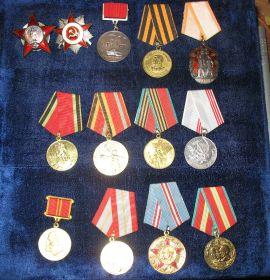 Ордена и медали Горской Нины Ивановны