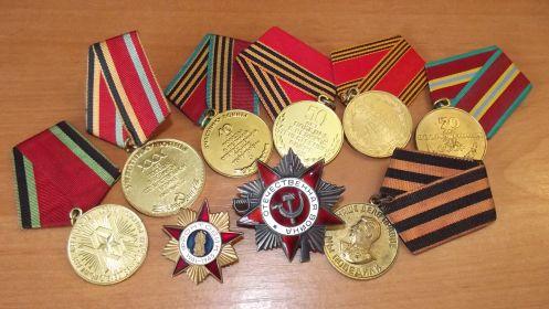Награды Отмахова Николая Федоровича
