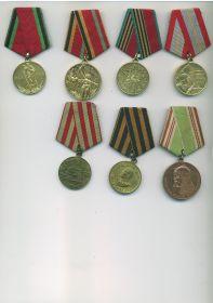 Послевоенные медали