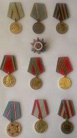 награды Ветерана войны