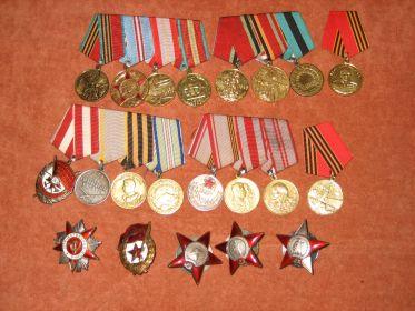 Все ордена и медали