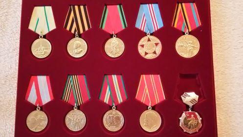 Медали и памятные знаки