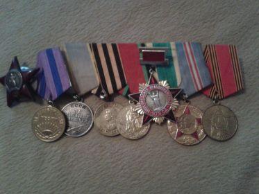 Мамины ордена и медали