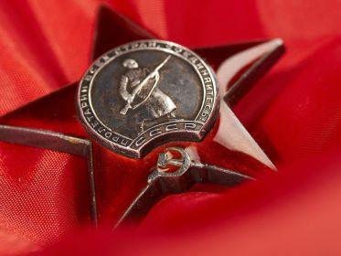 Орден «Красная звезда» (Фронтовой приказ № 295 от 05.06.1942)