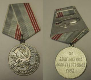 Медаль за долголетний доблестный труд