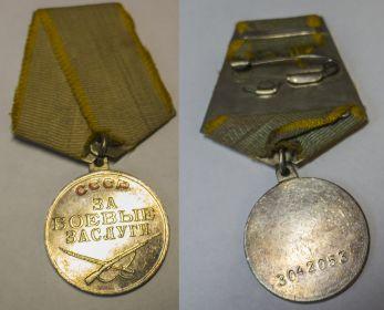 Медаль За боевые заслуги