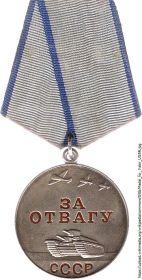 """Медаль """"За отвагу""""!"""