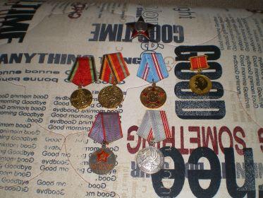 Награды солдата