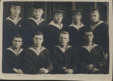 курсанты ЭПРОН ТОФ 1938  год