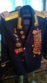 21 августа 2014 китель Выборнова А.И.
