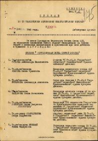 Орден Великой Отечественной Войны 1 степени.