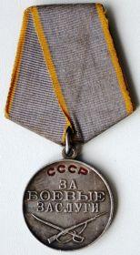 """""""  Медаль """"За боевые заслуги"""""""