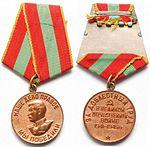 Медаль за доблестный труд в Великой Отечественной войе