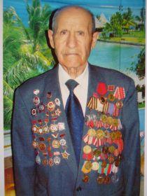 """Орден отечественной войны II степени, орден красная звезда,орден """"Славы 3й степени"""", медали за  боевые заслуги, многочисленные грамоты"""