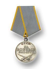 """""""  Медаль """"За""""боевые заслуги"""""""