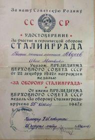 два ордена боевого Красного Знамени, орден Отечественной войны I степени, два ордена Красной Звезды