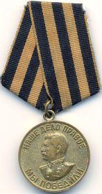 медаль за победу над Германией в ВОВ 1941-1945