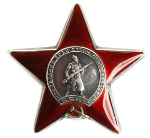 Орден Красной Звезды № 2833806