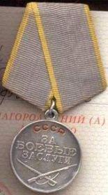 """медаль """"За боевые заслуги"""", """"За победу над Германией в Великой Отечественной войне 1941-1945 гг."""