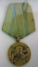 2. Медаль за оборону Заполярья.