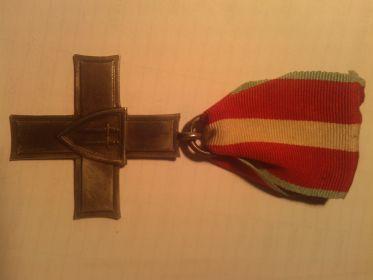 Польский орден «КРЕСТ ГРЮНВАЛЬДА» (Order Krzyza Grunwaldu) 1410-KG-1944.