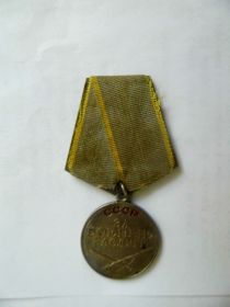 """Медаль """"За боевые заслуги"""","""