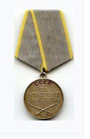 медаль За Боевые Заслугги