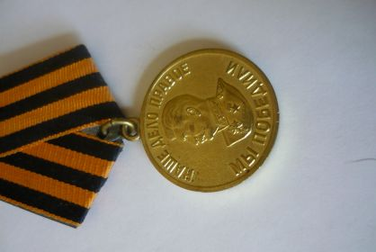 Медаль «За победу над Германией в Великой Отечественной войне 1941-1945»