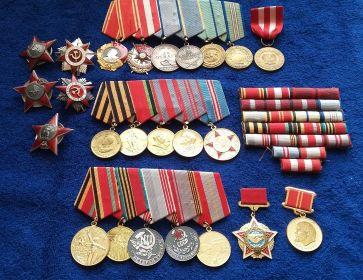 Боевые награды моего Деда