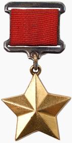 Медаль «Золотая Звезда» Героя Советского Союза № 11295;