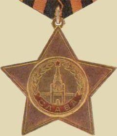 2 Ордена славы  3-й степени.