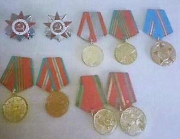 Награжден «Орденом Отечественной войны» I и II степеней