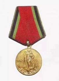 Медаль 20 лет Победы