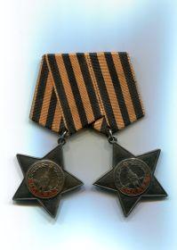 """""""Орден Славы"""" II и III степени (№ 28674 и № 153199)"""