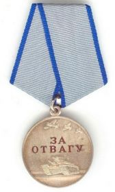 Медаль За отвагу: Приказ подразделения №: 51 от: 22.04.1943 Издан: 23 гв. сд