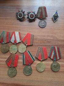 Медали и Ордена ВОВ