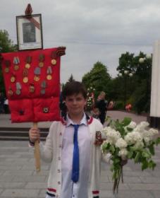 Орден Красной звезды, Орден  Отечества, медали, взятие Берлина, освобождение Праги,Наше дело правое мы победим
