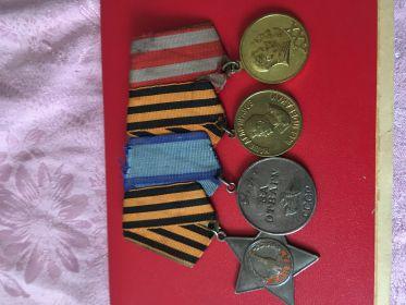 Орден Славы, за отвагу, за победу над Германией