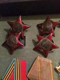 4 ордена красной звезды
